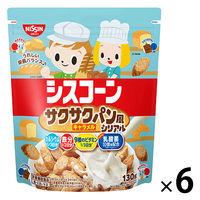 日清シスコ シスコーンBIG サクサクパン風シリアル キャラメル味 6袋 シリアル