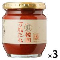 サンクゼール 韓国万能だれ K-1683 1セット(3個)