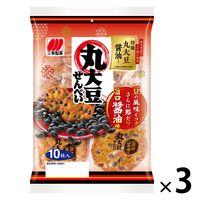 三幸製菓 丸大豆せんべい 1セット(3袋入)