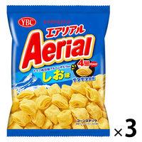 ヤマザキビスケット エアリアル ドイツ産岩塩アルペンザルツ使用 しお味 3袋