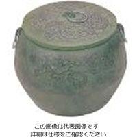 東伸販売 鉄鋳物 火消し壺 大 1個 62-6503-68(直送品)