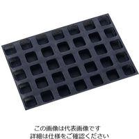 遠藤商事 ドゥマール シルフォーム 35取 バンズ・カレ 正方形 S1133 1個 62-6570-90(直送品)