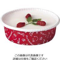 天満紙器 カールカップ(100枚入) スクリブル CR-26 1ケース(100枚) 62-6577-37(直送品)