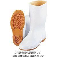 弘進ゴム 弘進 防寒ゾナ耐油長靴P 白 24cm (ウレタンパイルボア裏) 1足 62-6622-34(直送品)