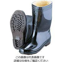 弘進ゴム 弘進 防寒ゾナネオ耐油長靴P 黒 24cm (ウレタンパイルボア裏) 1足 62-6622-40(直送品)