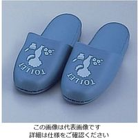 遠藤商事 抗菌トイレスリッパ (ブルー) B-7377 1足 62-6626-43(直送品)