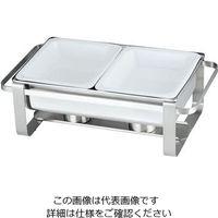 三宝産業 KINGOオープン角チェーフィング1/2 2102-2FN-PA210 1個 62-6658-24(直送品)