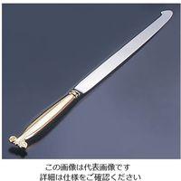 遠藤商事 ウェディングケーキナイフ 剣型 (桐箱入) 1本 62-6695-81(直送品)