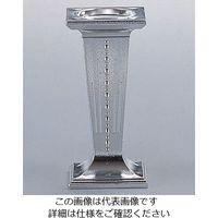 遠藤商事 角ウェディング・ケーキピラー シルバー 4612O 1個 62-6696-19(直送品)