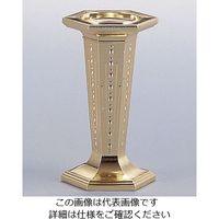遠藤商事 六角ウェディング・ケーキピラー ゴールド 4600O 1個 62-6696-23(直送品)