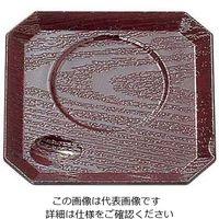 福井クラフト 隅切茶碗蒸し台 新溜木目 (ABS) 43010040 1枚 62-6722-42(直送品)