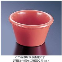 遠藤商事 ジェスナー メラミン ラメキン 0391 オレンジ 1個 62-6733-52(直送品)
