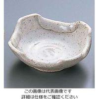 エムズジャパン 石焼白折り込灰皿 T03-72 1個 62-6762-15(直送品)