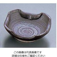 エムズジャパン 石焼黒折り込灰皿 T03-73 1個 62-6762-16(直送品)