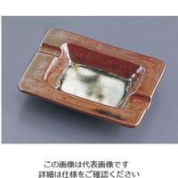 エムズジャパン 古瀬戸布目長角灰皿 T03-79 1個 62-6762-21(直送品)