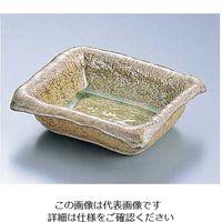 エムズジャパン 灰釉波型長角灰皿 T03-80 1個 62-6762-22(直送品)