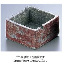 エムズジャパン 陶箱灰皿 T06-04 1個 62-6762-23(直送品)