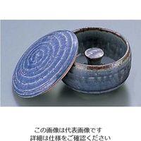 エムズジャパン 藍柚蓋付灰皿 T02-07 1個 62-6762-26(直送品)