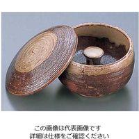 エムズジャパン 灰柚蓋付灰皿 T02-08 1個 62-6762-27(直送品)