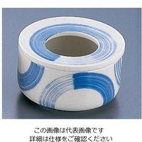 遠藤商事 イングレ呉須刷毛蓋付灰皿 1個 62-6762-30(直送品)
