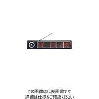 遠藤商事 エコチャイム 受信表示機 EC-100 ブラック 1個 62-6779-10(直送品)