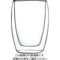 Luigi Bormioli ダブルウォールドリンクデザイン(2ヶ入) ジュース 10354/01 1ケース(2個) 62-6809-73(直送品)