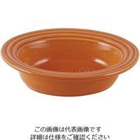 アズワン オーバルベーキングディッシュ 27cm オレンジ 1個 62-6823-50(直送品)