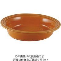アズワン オーバルベーキングディッシュ 33cm オレンジ 1個 62-6823-53(直送品)