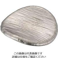 遠藤商事 錫 丸餅型箸置 ゴザ目 SG019 1個 63-5708-76(直送品)