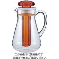 三宝産業 UK アクリルウォーターピッチャーカラー 1.9L オレンジ 1個 63-5710-88(直送品)