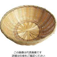 萬洋 竹 中華菜ザル 21cm 80-110C 1個 63-7120-68(直送品)
