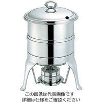 和田助製作所 SW 18-8 S型 スープウォーマー(レードルスタンド付)7L 1個 63-7163-65(直送品)