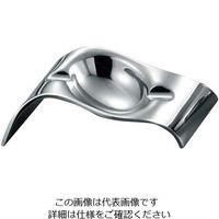 ミヤザキ食器 アッシュトレー ウェーブ AT1003-S ミラー 1個 63-7209-72(直送品)