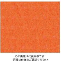 東京クイン オリビア テーブルクロス ロール 1500mm×100m ピュアオレンジ 1個 63-7217-96(直送品)