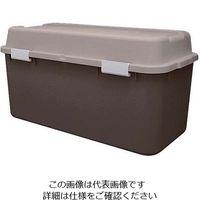 JEJアステージ 収納箱 ホームボックス 880 ブラウン 1個 63-7220-30(直送品)