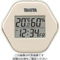 タニタ(TANITA) デジタル温湿度計 アイボリー TT-573-IV 1個 63-7292-29(直送品)
