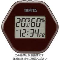タニタ(TANITA) デジタル温湿度計 ブラウン TT-573-BR 1個 63-7292-30(直送品)