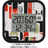 タニタ(TANITA) デジタル温湿度計 ミッキー TT-DY01-MK 1個 63-7292-31(直送品)