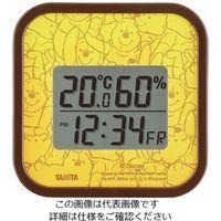タニタ(TANITA) デジタル温湿度計 プー TT-DY01-PO 1個 63-7292-32(直送品)