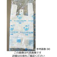 中川製袋化工 レジ袋 バイオじゃろ10 SS 半透明 1ケース(2000枚) 63-7820-44(直送品)