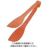 遠藤商事 TKG マジックサービングトング 20cm オレンジ 1個 64-4184-55(直送品)