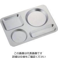 高桑金属 カフェトレイ サテン 1個 64-4188-93(直送品)