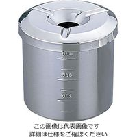 三宝産業 UK ステンレス ラーメン灰皿 A L(深型) 1個 64-4204-05(直送品)