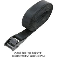 藤原産業 E-Value カムバックル式荷締ベルト BT-254(BK) 1セット(2個)(直送品)