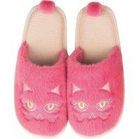 センコー 小悪魔CAT リラッパ スリッパ 約24cm ピンク SDS150399 1足(直送品)
