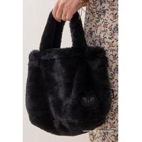 センコー 小悪魔CAT レイバッグ 巾着バッグ ブラック SDS200430 1個(直送品)