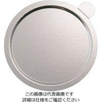 中澤函 デコラプレート カルトンロンド 25枚入 Jシルバー Y60 1セット(25枚) 63-5705-25(直送品)