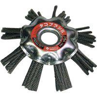 柳瀬 たこブラシ エアー用 鋼線 TBM16-100 100X16 1個(直送品)