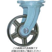 ヨドノ 鋳物車輪自在車付きベアリング入 100φ CB-G100 1個 131-8740(直送品)
