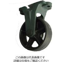 ヨドノ 鋳物車輪固定車付きベアリング無 100φ CA-K100 1個 131-7213(直送品)